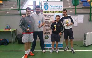Torneo de tenis en Toques 2015