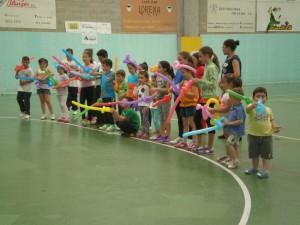 Festa clausura das escolas deportivas e culturais do curso 2014-15