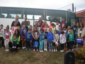 Excursión dos nenos e nenas de Toques