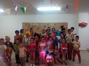 Remate do campamento urbán do concello de Toques