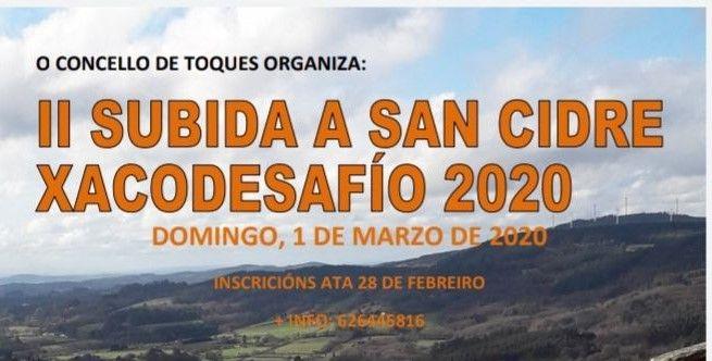 carreira San Cidre de Toques - Xacodesafío 2020